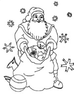 coloring pages christmas 4