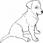 coloring pages of puppies 3