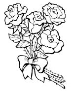 coloring pages of roses 2