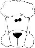 dogs coloring pages 3