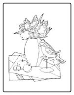 flower coloring pages 10