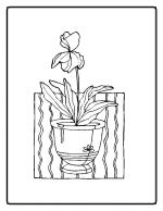 flower coloring pages 11