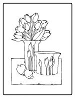 flower coloring pages 13