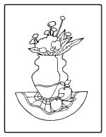 flower coloring pages 7