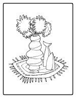 flower coloring pages 9