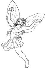 girl coloring pages 4