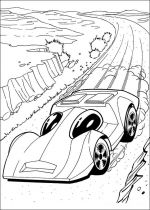 hot wheels coloring pages 6