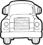 monster truck coloring pages 2