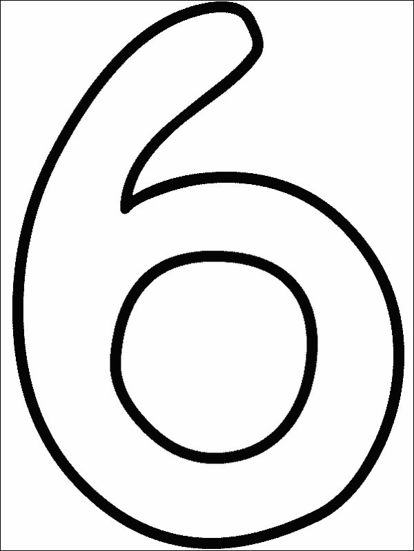 Number Coloring Pages | Coloring Pages To Print