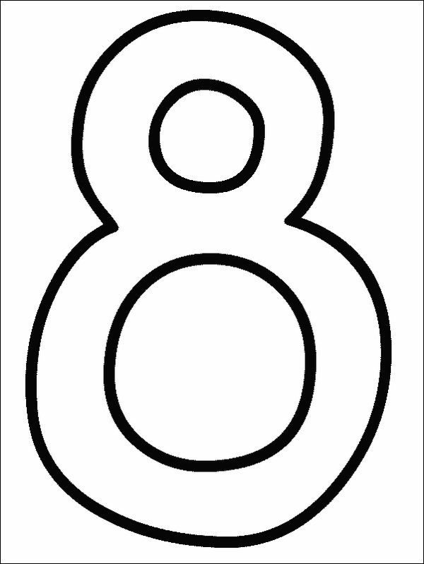 Number Coloring Pages Coloring Pages To Print