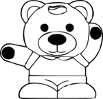 panda coloring pages 2
