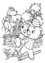 pigs coloring pages 2