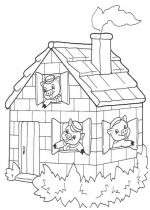 pigs coloring pages 3