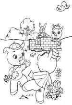 three little pigs coloring pages 3