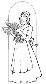 pilgrim coloring pages 3