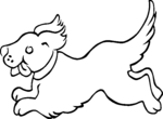 puppies coloring pages 4