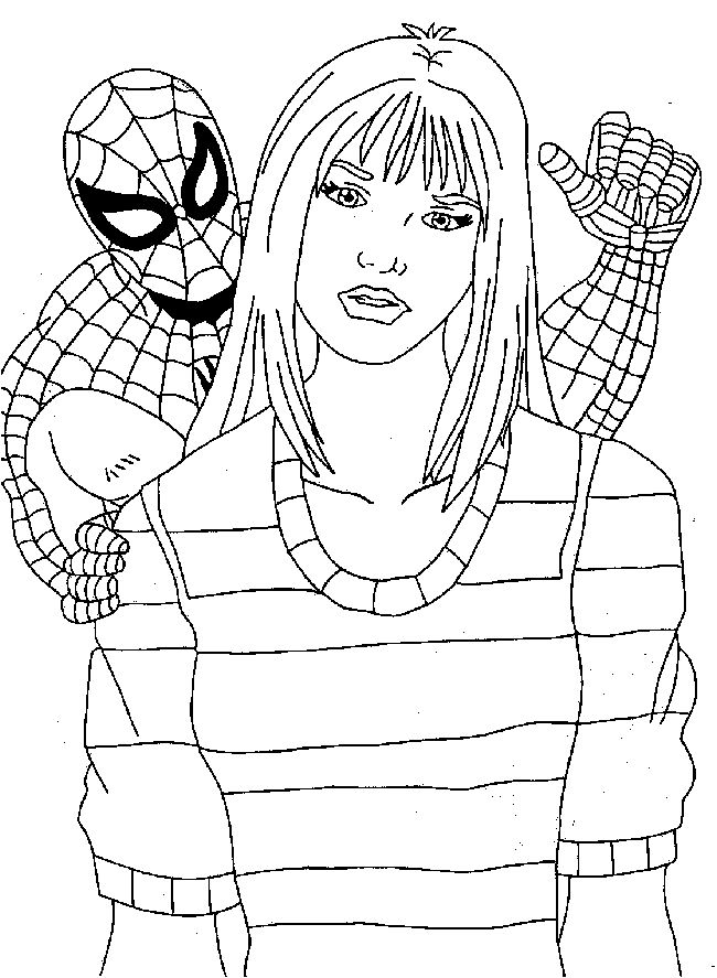Spiderman Coloring Pages 2 | Coloring Pages To Print