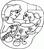 cornucopia thanksgiving coloring pages 2