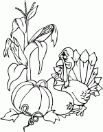 sad turkey thanksgiving coloring pages