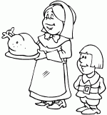 turkey thanksgiving coloring pages 2