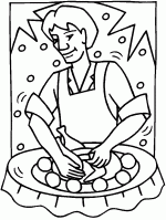 turkey thanksgiving coloring pages 3