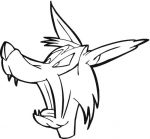 wolf coloring pages 4